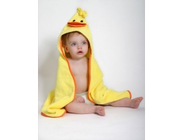 Image Baby hooded towel - Puddles the Duck