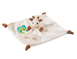 Image Sophie the Giraffe Comforter with Dummy Holde