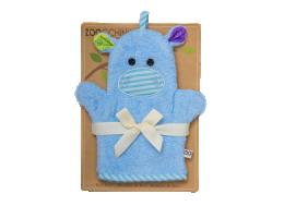 Image Zoocchini bath mitt - Henry the Hippo