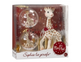 Image Sophie the Giraffe my first Christmas set