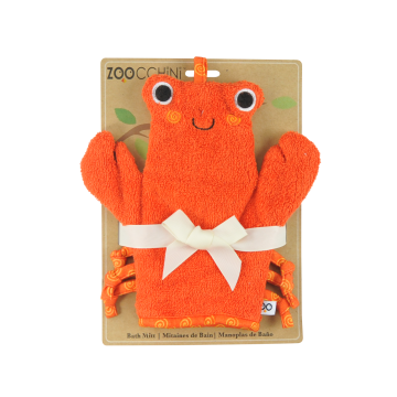 Image Zoocchini bath mitt - Charlie the crab